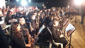 limbadi, alunni della scuola media in concerto